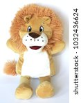 Small photo of Child's soft toy lion plush puppet