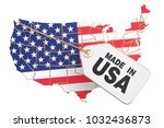 made in the united states... | Shutterstock . vector #1032436873
