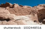 ancient petroglyphs on the... | Shutterstock . vector #1032448516