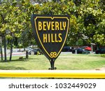 beverly hills la america travel ... | Shutterstock . vector #1032449029