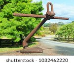 Giant Anchor From Huge Ship...