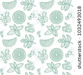 seamless pattern  graphic...   Shutterstock .eps vector #1032493018