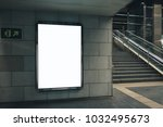 light box display with white... | Shutterstock . vector #1032495673
