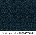 decorative seamless geometric...