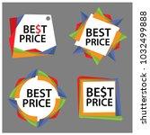best price banner  set stickers ...