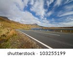 A Beautiful Highway Road In Th...
