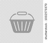 basket vector icon eps 10.... | Shutterstock .eps vector #1032573370