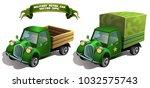 vector illustration. military... | Shutterstock .eps vector #1032575743