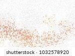light orange vector background... | Shutterstock .eps vector #1032578920