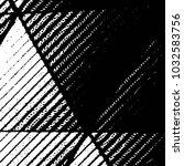 abstract grunge grid stripe... | Shutterstock . vector #1032583756