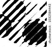 black and white grunge stripe... | Shutterstock . vector #1032584443