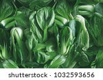 green leafy vegetables  china | Shutterstock . vector #1032593656
