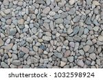 pebbles of different shape ... | Shutterstock . vector #1032598924