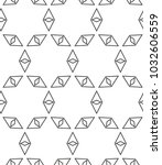 geometric ornamental vector...   Shutterstock .eps vector #1032606559