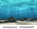 Abstract Under Sea Background ...