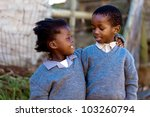 caring and loving each other ... | Shutterstock . vector #103260794