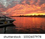 Newport Beach Harbor At Sunset...