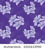 seamless ultra violet purple... | Shutterstock .eps vector #1032613900