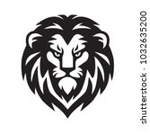lion head vector   Shutterstock .eps vector #1032635200