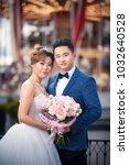 wedding photo shoot asians in... | Shutterstock . vector #1032640528