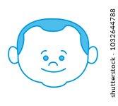 cute grandfather cartoon | Shutterstock .eps vector #1032644788