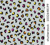 cute seamless pattern with... | Shutterstock .eps vector #1032648199