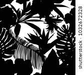 floral seamless pattern.... | Shutterstock .eps vector #1032672328