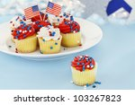 american patriotic themed... | Shutterstock . vector #103267823
