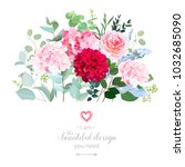 Floral Design Vector Border In...