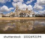 may 4  2.017. almonte  huelva ... | Shutterstock . vector #1032692194