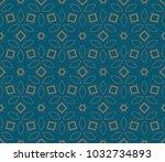 modern geometric seamless... | Shutterstock .eps vector #1032734893