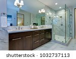 incredible master bathroom with ... | Shutterstock . vector #1032737113