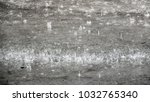 soft raining and water drop on... | Shutterstock . vector #1032765340