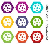 alone planet icon set many... | Shutterstock .eps vector #1032795808