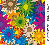 seamless background with... | Shutterstock .eps vector #1032814696