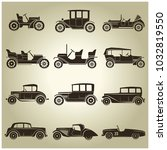 Set Of 12 Vector Icons Of...