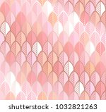 vector background in rose and... | Shutterstock .eps vector #1032821263