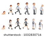 illustration of human life... | Shutterstock .eps vector #1032830716