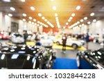 defocus image of a showroom...   Shutterstock . vector #1032844228