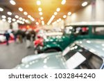 defocus image of vintage cars...   Shutterstock . vector #1032844240