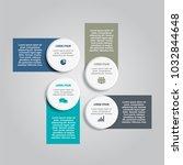 infographic template. vector...   Shutterstock .eps vector #1032844648