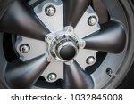 close up of a modern sport wheel   Shutterstock . vector #1032845008