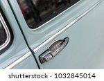 close up of an handle of a car...   Shutterstock . vector #1032845014