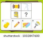 practice questions worksheet... | Shutterstock .eps vector #1032847600