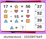 practice questions worksheet... | Shutterstock .eps vector #1032847669