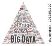 vector conceptual big data...   Shutterstock .eps vector #1032851320