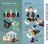 anti corruption fight stealing... | Shutterstock .eps vector #1032852238