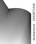 white black color. linear... | Shutterstock .eps vector #1032871318