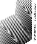 white black color. linear... | Shutterstock .eps vector #1032872620