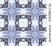 seamless texture  square   lace ... | Shutterstock . vector #1032881116